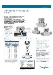 Válvulas de Retenção Lift, Série 50, (MS-01-98, R6) - Swagelok
