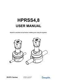 HPRSS4,8 - Swagelok