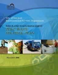 Zero Waste Strategic Plan - City of San José