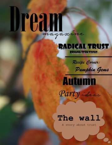 Dream Magazine Fall 2014