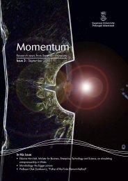 Momentum - September 2011 - Swansea University