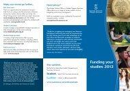 Student Finance Information - Swansea University