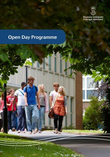 Open Day Programme - Swansea University