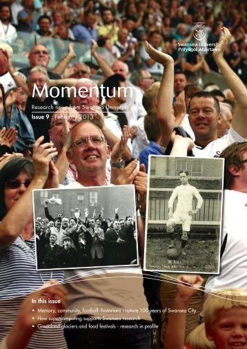 Momentum-February-2013 - Swansea University