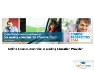 Online Courses Australia: A Leading Education Provider