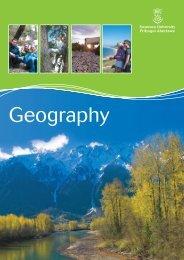 Undergraduate Geography Brochure - Swansea University