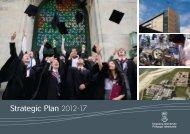 Strategic Plan 2012-17 - Swansea University