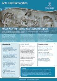Arts and Humanities - Swansea University