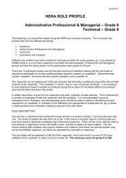 Administrative Professional & Managerial – Grade 7 - Swansea ...