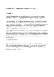 Administrative Professional & Managerial – Grade 10 GUIDANCE ...