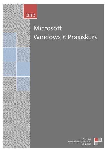 Windows 8 Praxiskurs.pdf - Swantec