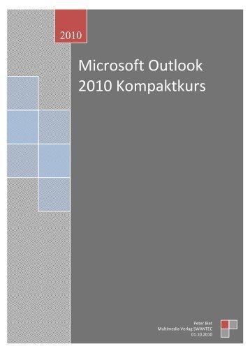 Outlook 2010 Kompaktkurs.pdf - Swantec