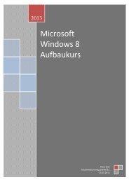 Microsoft Windows 8 Aufbaukurs - Swantec