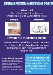 sterile water injections - SWARH