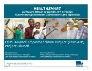 FMIS Alliance Implementation Project Launch - SWARH