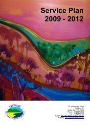 Service Plan 2009 - 2012 - SWARH