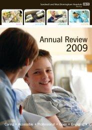 Annual Review 2009 - Sandwell & West Birmingham Hospitals