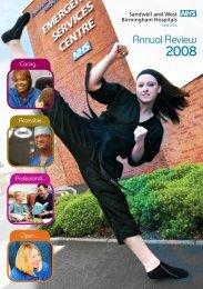 Annual Review 2008 - Sandwell & West Birmingham Hospitals