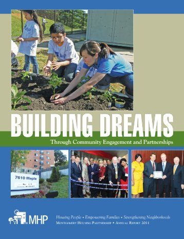 Click for MHP 2011 Annual Report - Montgomery Housing Partnership