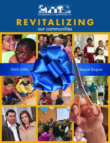 MHP 2005 - 2006 Annual Report - Montgomery Housing Partnership