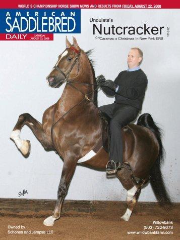 Saturday - American Saddlebred Horse Association