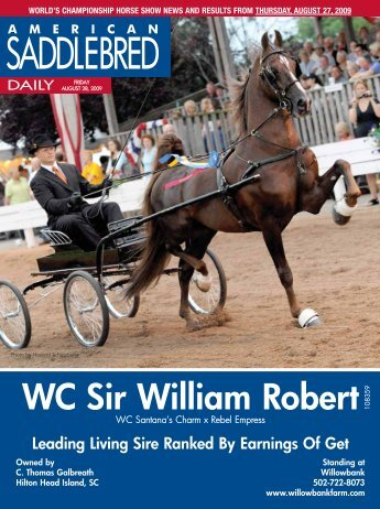 Friday - American Saddlebred Horse Association