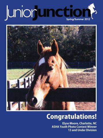Spring/Summer 2012 - American Saddlebred Horse Association