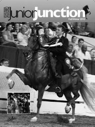 Fall/Winter 2010 - American Saddlebred Horse Association