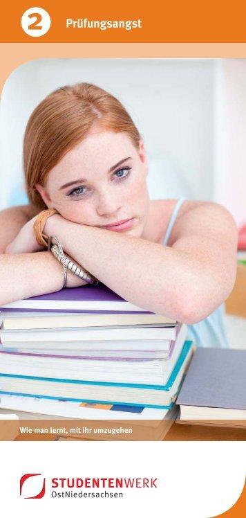 Prüfungsangst - Studentenwerk OstNiedersachsen