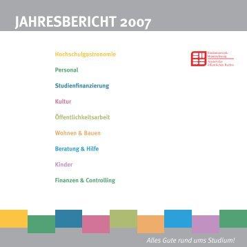 JAHRESBERICHT 2007 - Technische Universität Braunschweig