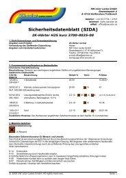 3700-0025 » Härter normal - SW color Lacke GmbH