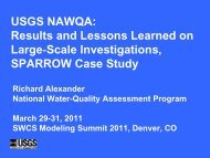 National Water Quality Assessment - Soil and Water Conservation ...