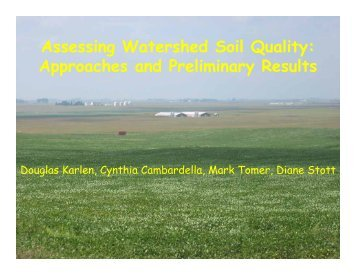 Karlen, Douglas - Soil and Water Conservation Society