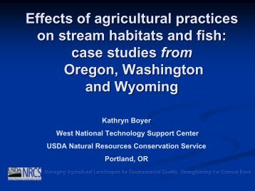 Boyer, Kathryn - Soil and Water Conservation Society