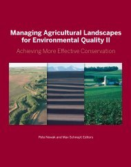 Managing Agricultural Landscapes for Environmental Quality II