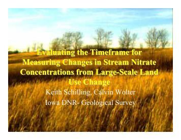 Schilling, Keith - Soil and Water Conservation Society