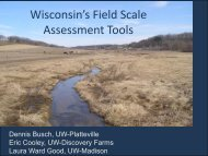Wisconsin Field Scale Assessment Tools - Soil and Water ...