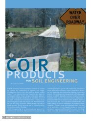 coir - Soil and Water Conservation Society