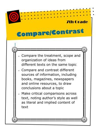 compare and contrast pdf documents