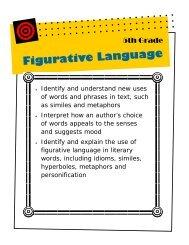 5th - figurative language