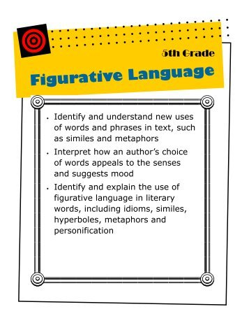 Ereading worksheets figurative language poem 1