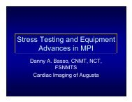 Stress Testing and Equipment Advances in MPI