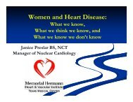 Heart Disease in Women