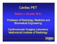 Cardiac PET Cardiac PET