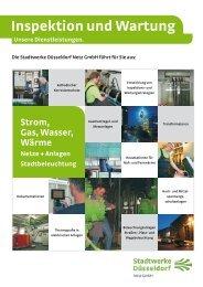 Inspektion und Wartung - Stadtwerke Düsseldorf Netz GmbH