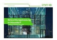 Beleuchtungsmessung in Düsseldorf - Stadtwerke Düsseldorf Netz ...