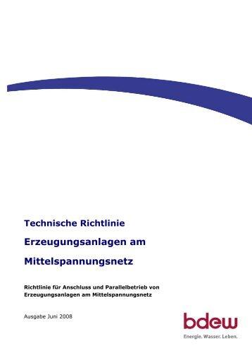 Erzeugungsanlagen am Mittelspannungsnetz - EWE NETZ GmbH
