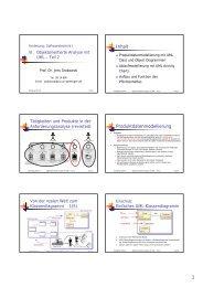 VI-Objektorientierte-Analyse-mit-UML-Teil-2 - Gruppe ...