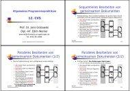 12. CVS - Gruppe Softwaretechnik für Verteilte Systeme