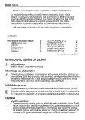 Lietošanas instrukcija Tabulas, padomi un receptes - Page 2
